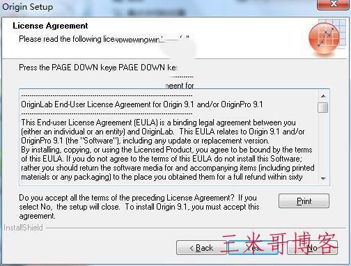 Origin9.1安装教程  origin 软件 originlab 第2张